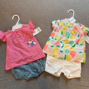 Carters Outfits 💕 6 months